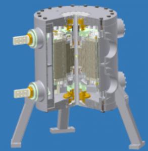 33 T Bitter magnet at HFML