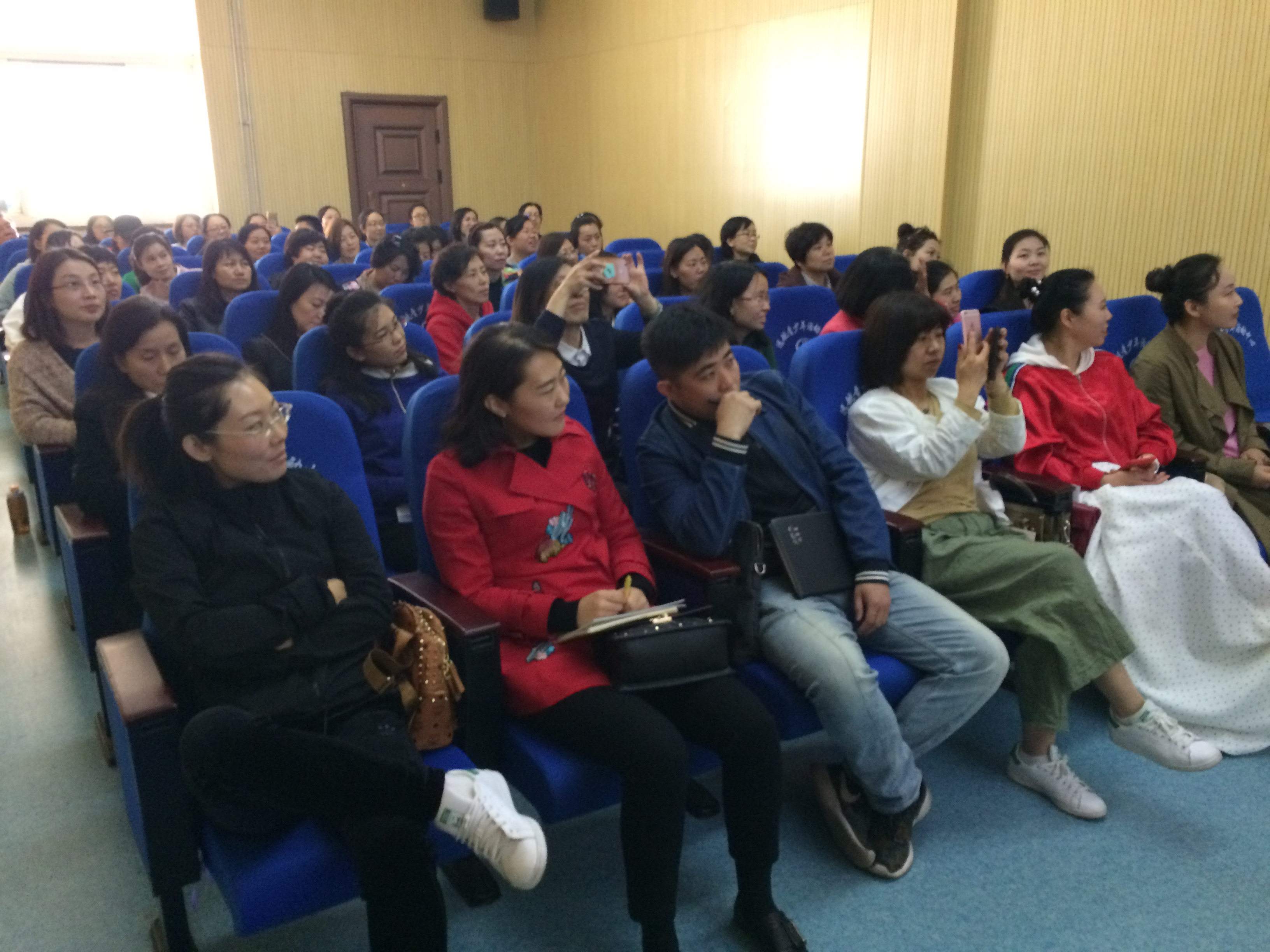 Nicole was presenting in Taiyuan