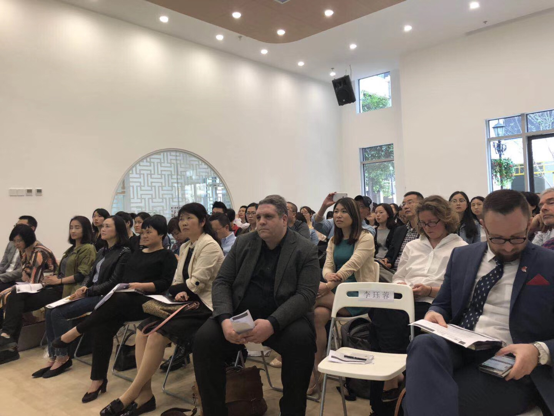 Nicole was presenting in Chengdu
