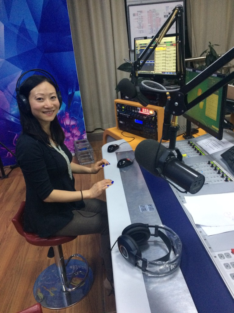 Dr. Nicole Li was interviewed by a mainstream radio programme in Urumqi